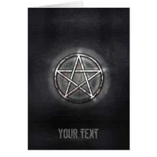 Pentagram Card