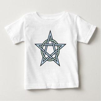 Pentagram-circle-interlaced Baby T-Shirt