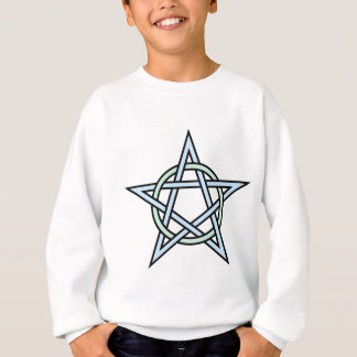 Pentagram-circle-interlaced Sweatshirt