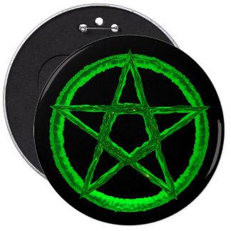 Pentagram Colossal, 6 Inch Round Button