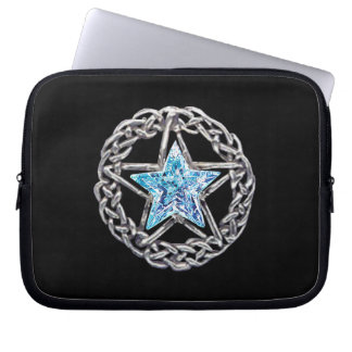 Pentagram Crystal Star Laptop Sleeve