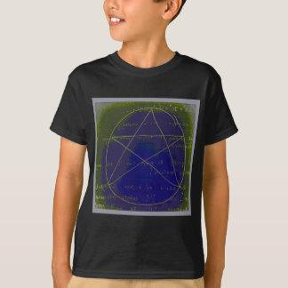 pentagram dark magic circle ritual T-Shirt