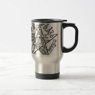 Pentagram_(Levi) Travel Mug