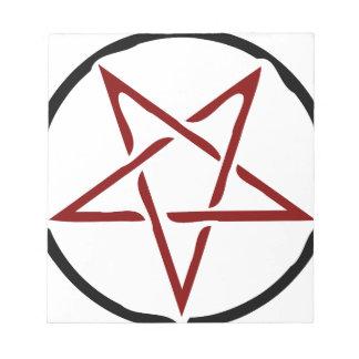 Pentagram Notepads