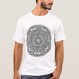 Pentagram, Octagon and Seven Pointed Star T-Shirt