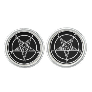 Pentagram of Baphomet Cufflinks