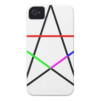 Pentagram-phi Case-Mate iPhone 4 Cases