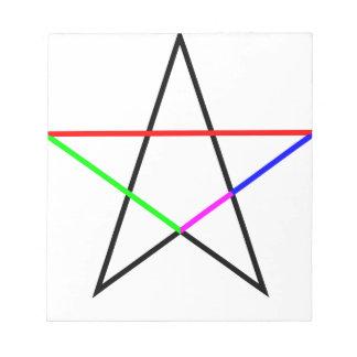 Pentagram-phi Notepads
