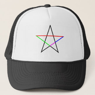 Pentagram-phi Trucker Hat