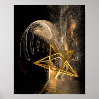 Pentagram Rising Poster