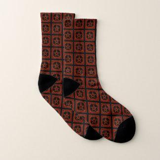 Pentagram socks 1