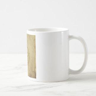 Pentagram Textured Coffee Mug