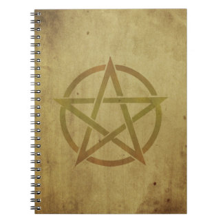 Pentagram Textured Notebook
