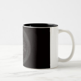 Pentagram Two-Tone Coffee Mug