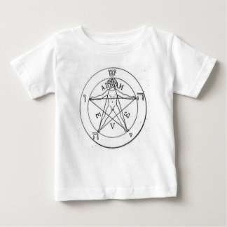 Pentagram_with_one_point_up Baby T-Shirt