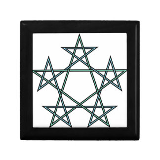 Pentagrams-interlaced-pattern Gift Box