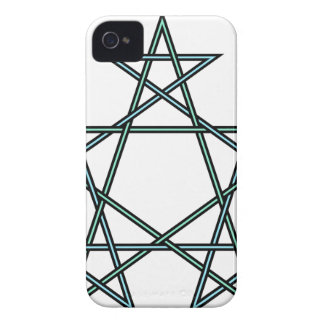 Pentagrams-interlaced-pattern iPhone 4 Case-Mate Cases