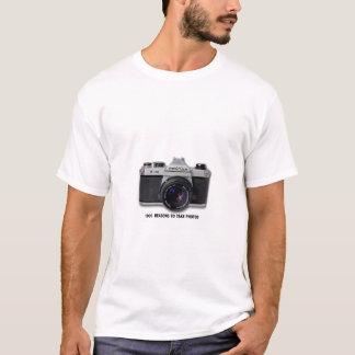 Pentax K1000 photograph t shirt