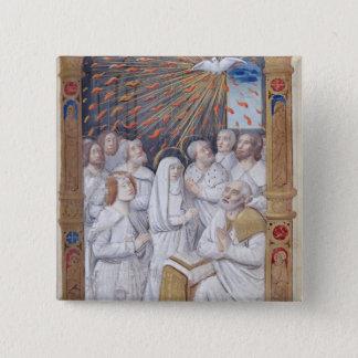 Pentecost 15 Cm Square Badge