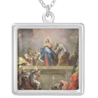 Pentecost, 1732 silver plated necklace