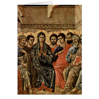 Pentecost By Duccio Card