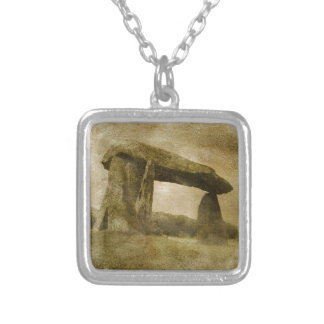Pentre Ifan Silver Plated Necklace