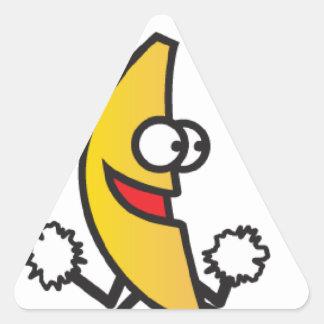 penut butter jelly time triangle sticker