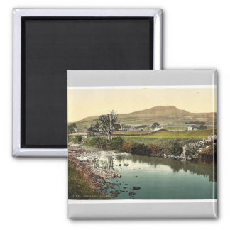 Penyghent, from Horton, Yorkshire, England rare Ph Square Magnet