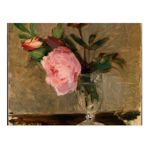 Peonies Berthe Morisot Fine Art Post Cards