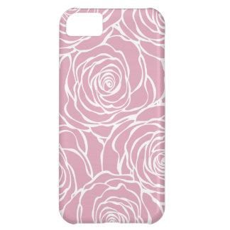 Peonies,floral,white,pink,pattern,girly,modern,bea iPhone 5C Case
