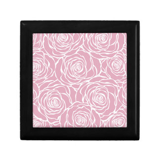 Peonies,floral,white,pink,pattern,girly,modern, Gift Box