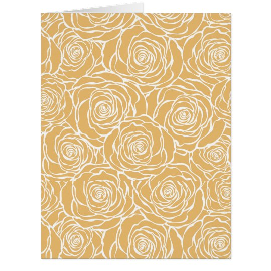 Peonies,floral,white,yellow,pattern,girly,modern,b Card