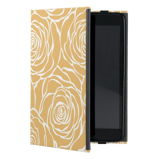 Peonies,floral,white,yellow,pattern,girly,modern,b Case For iPad Mini