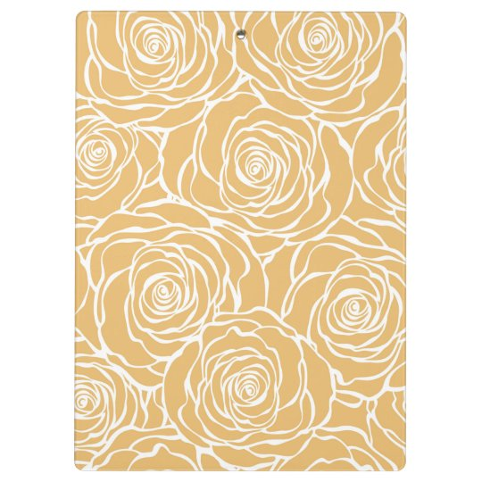Peonies,floral,white,yellow,pattern,girly,modern,b Clipboard