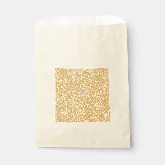 Peonies,floral,white,yellow,pattern,girly,modern,b Favour Bag