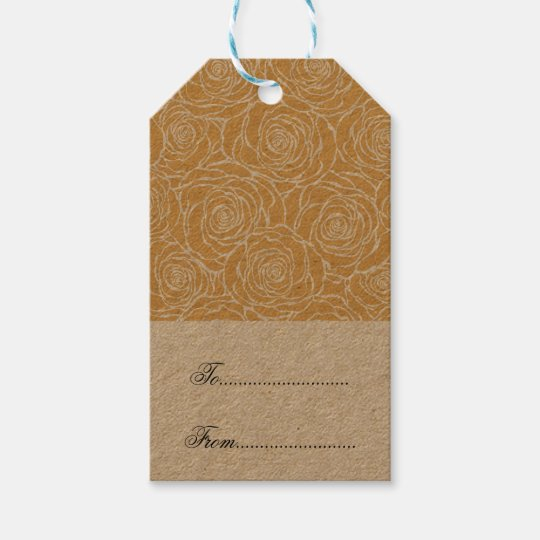 Peonies,floral,white,yellow,pattern,girly,modern,b Gift Tags