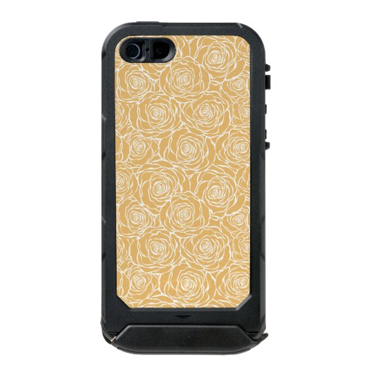 Peonies,floral,white,yellow,pattern,girly,modern,b Incipio ATLAS ID™ iPhone 5 Case