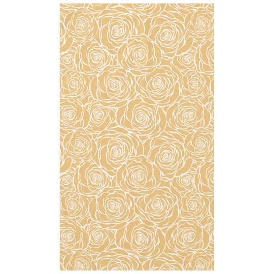 Peonies,floral,white,yellow,pattern,girly,modern,b Tablecloth