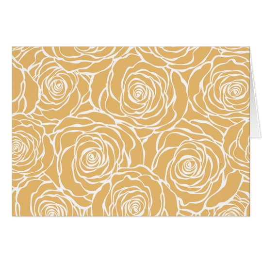 Peonies,floral,white,yellow,pattern,girly,modern Card