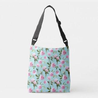 Peonies in her Dreams Crossbody Bag