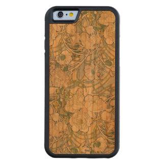 Peonies Wood iPhone 6 case