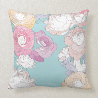 PEONIESMINT CUSHION