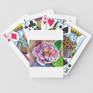 Peony Bicycle Playing Cards