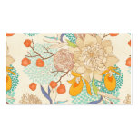 Peony Flower Pattern Pack Of Standard Business Cards