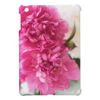 Peony Flowers Close-up Sketch iPad Mini Case