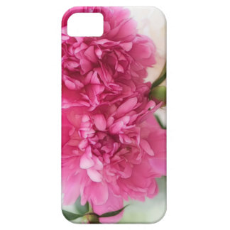 Peony Flowers Close-up Sketch iPhone 5 Cover