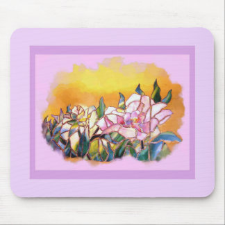 Peony Lovely Mouse Pad