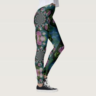 Peony Mandala Leggings