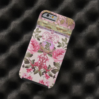 Peony Place Monogram Tough iPhone 6 Case