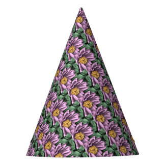 Peony Rain in Color Party Hat